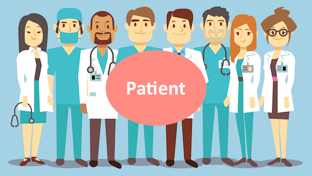 image of healthcare team